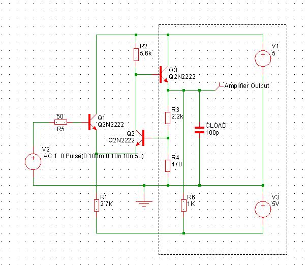 User Manual: Tutorial 1 - A Simple Ready to Run Circuit