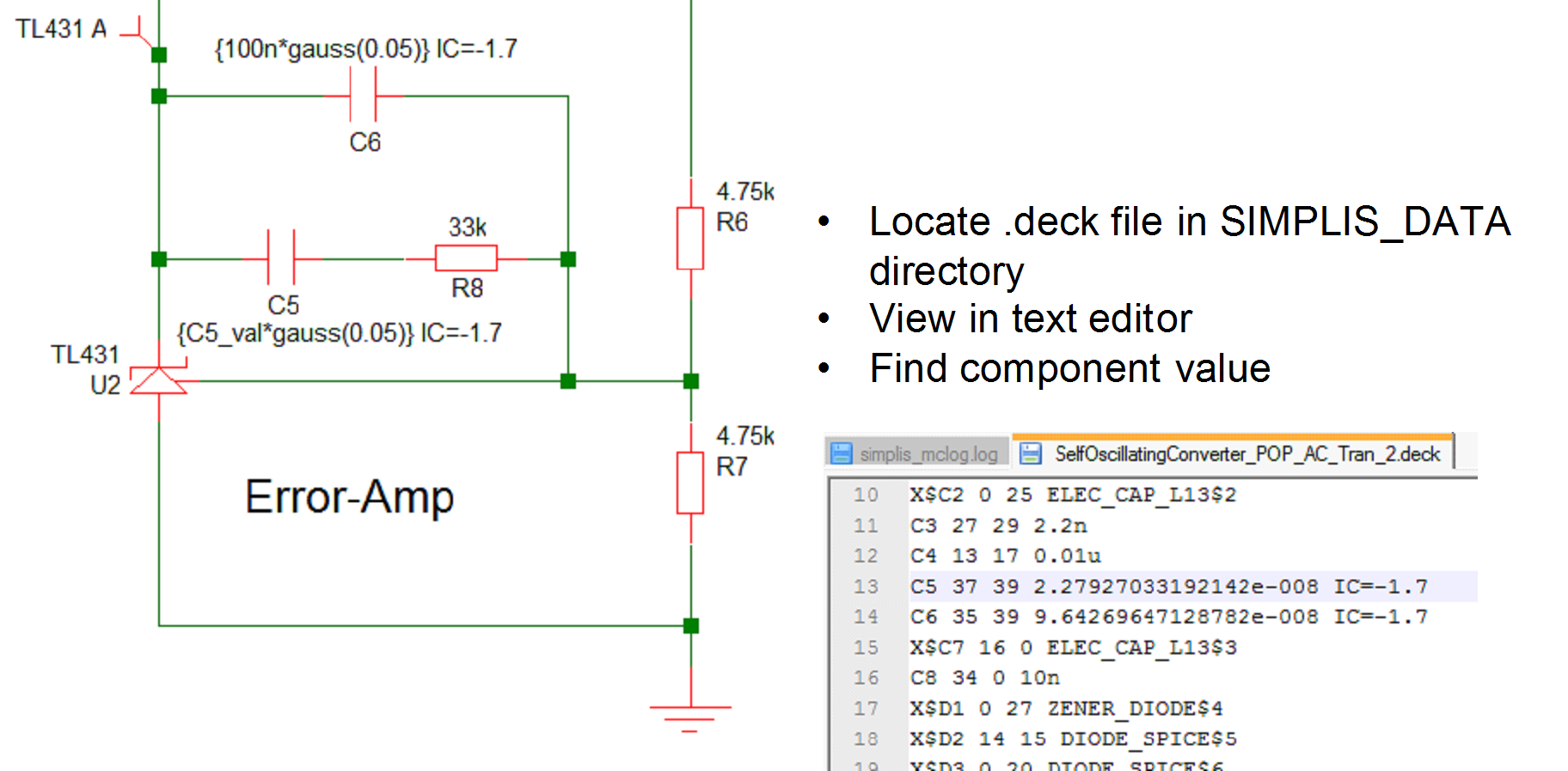 User Manual: Multi-step and Monte Carlo Analyses