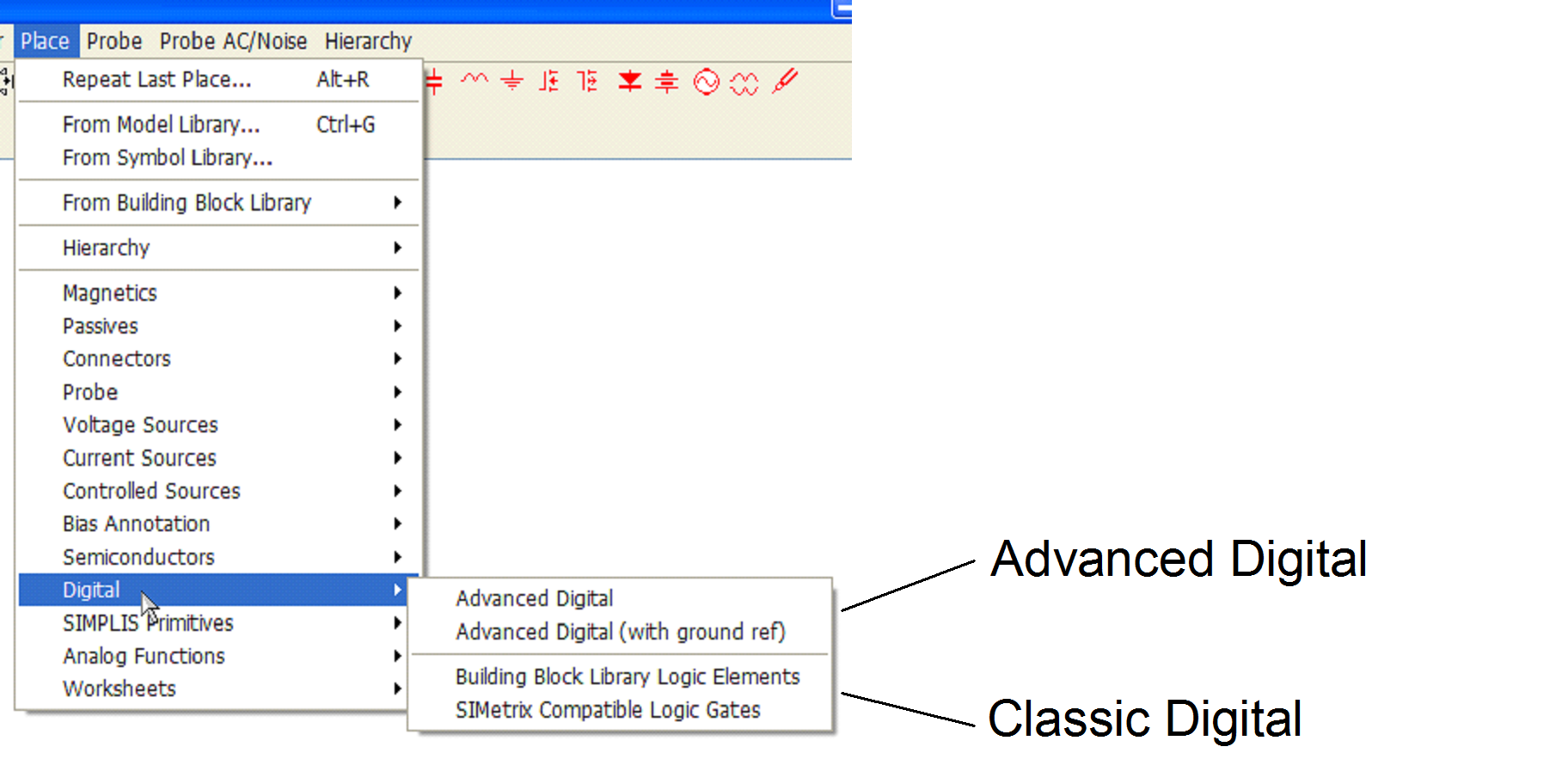 Simplis Reference Advanced Digital Components Overview