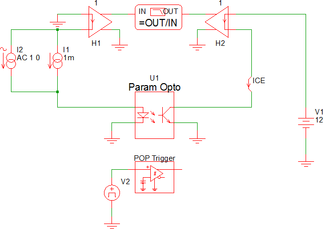 SIMPLIS Parts: Parameterized Opto Coupler (Version 8 0+)
